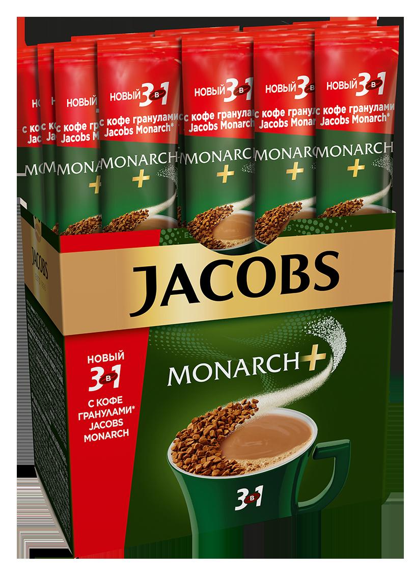 Кофе  Якобс  Монарх 3в1 стик 15гр.