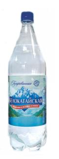 Вода  Белокатайская  газированная 1.5л