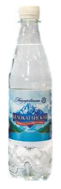Вода питьевая  Белокатайская  негазированная 0.5л