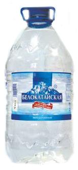 Вода  Белокатайская  негазированная 5л