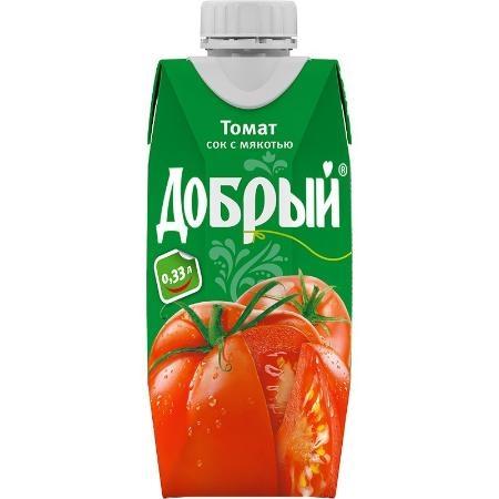 Нектар  Добрый  томат 0.33л