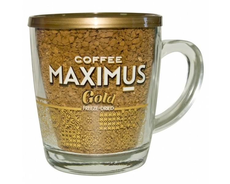Кофе  Максимус Голд  в кружке 70 гр.