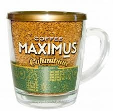 Кофе  Максимус  Коламбия в кружке 70 гр.