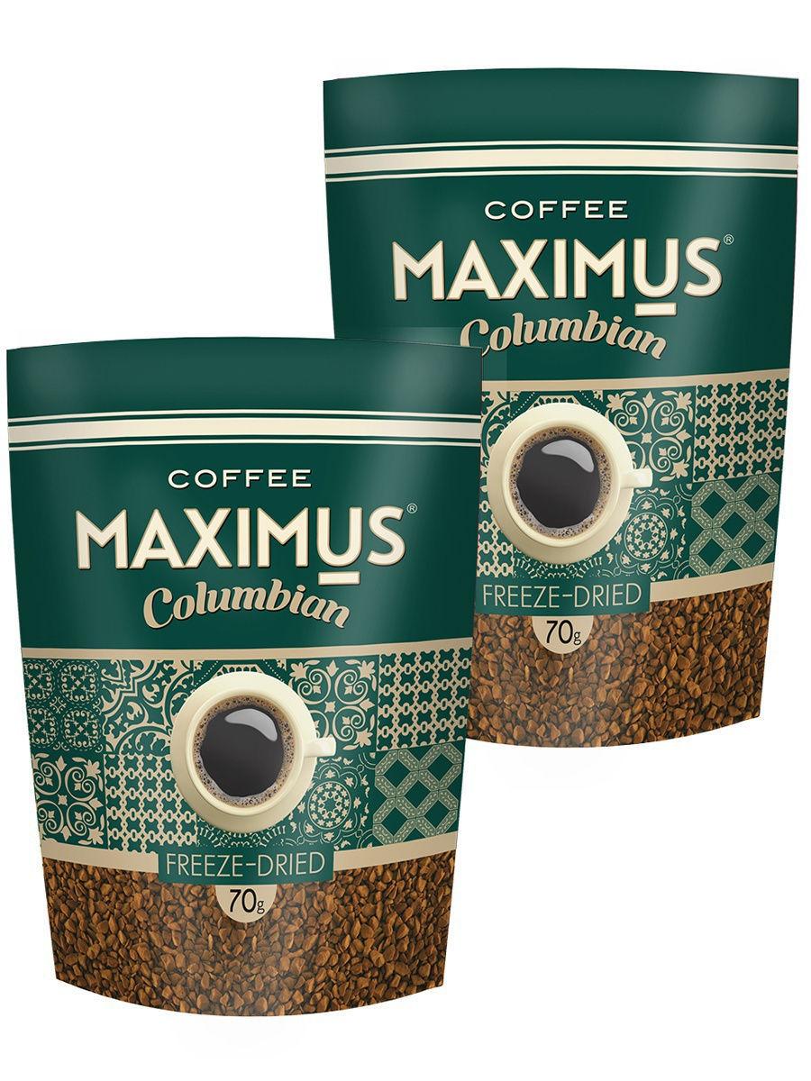 Кофе Коламбиан ТМ  Максимус  70 гр +ложка