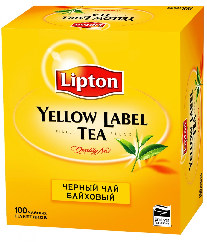 Чай  Липтон  LYL 100шт*2гр.