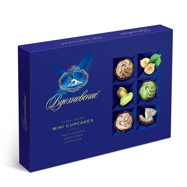 Набор конфет  Вдохновение  Mini Cupcakes 165гр.