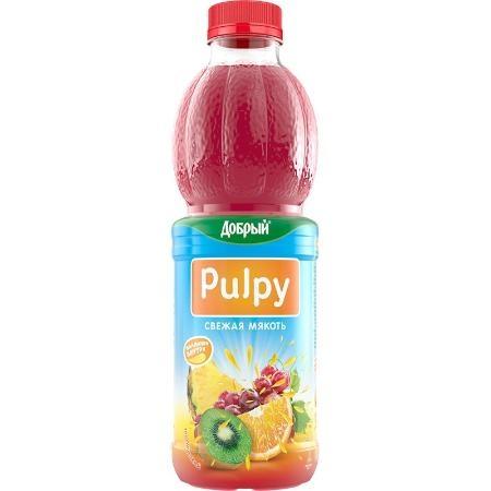 Нектар  Добрый Pulpy  тропик 0.9 л