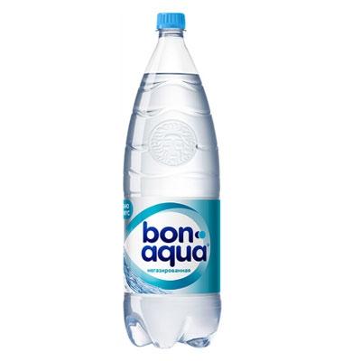 Минеральная вода  Бон-аква  без газа 1.5л.