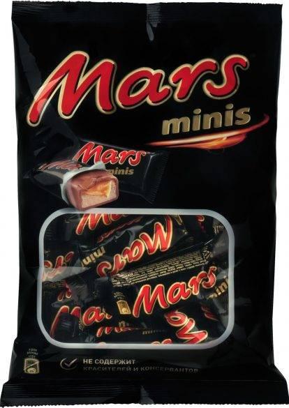 Батончики  Марс  минис 182гр.