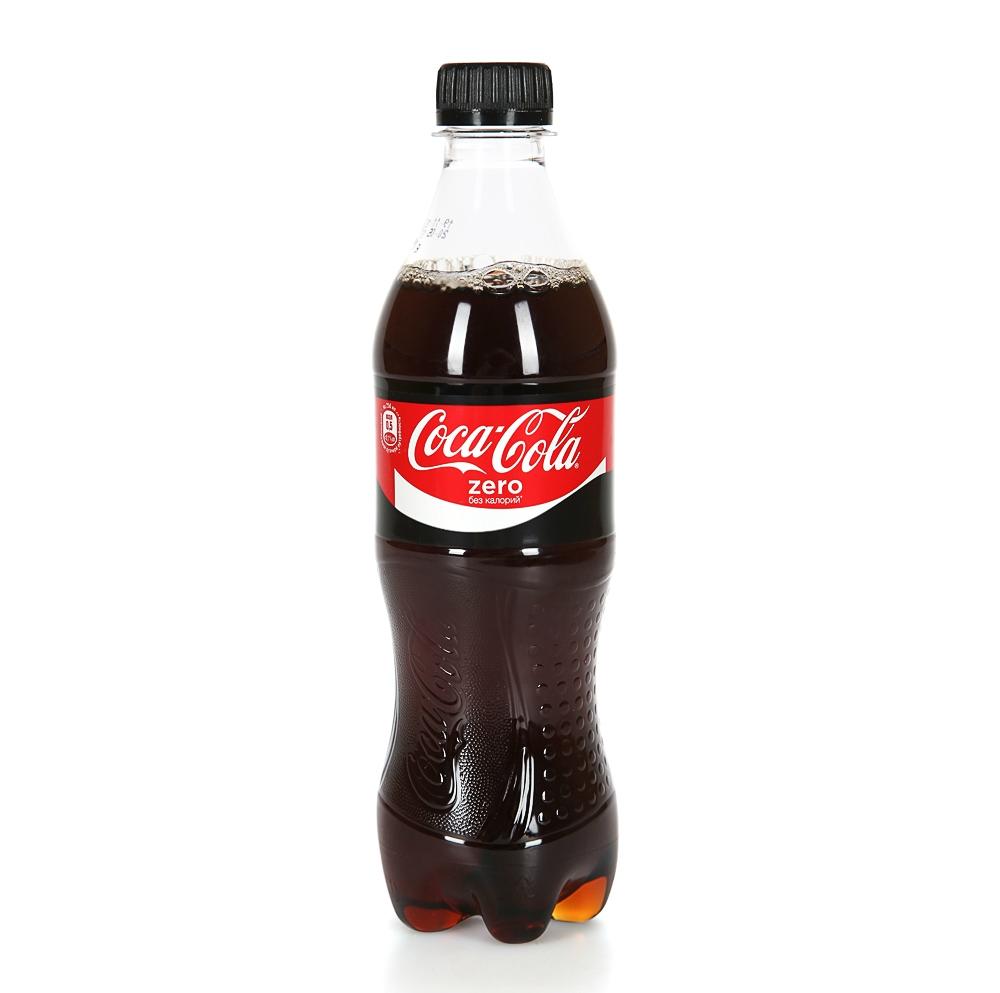 Газированная вода  Кока-кола  0 калорий 0.5л