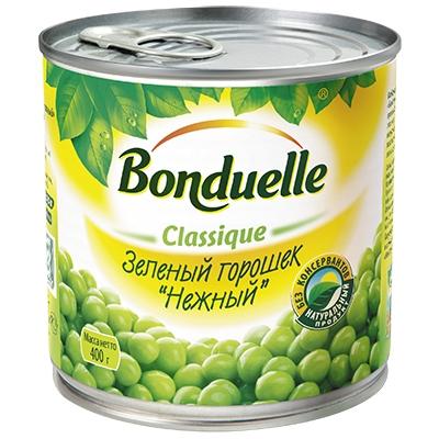 Зеленый горошек  Бондюэль  425 мл.
