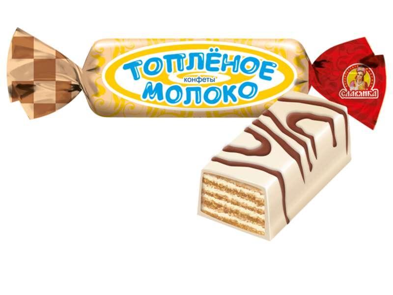 КОНФЕТЫ ТОПЛЕНОЕ МОЛОКО 1КГ