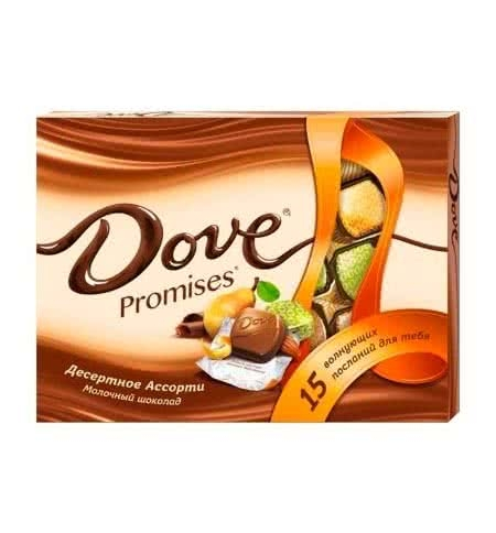 Набор конфет  Dove Promises  десертное ассорти 118гр
