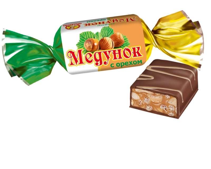 Конфеты  Медунок  с орехом 1кг