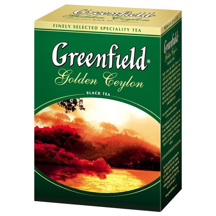 Чай  Гринфилд  Голден Цейлон 100гр.
