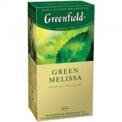 Чай  Гринфилд  мята/мелисса 25шт*1.5гр.