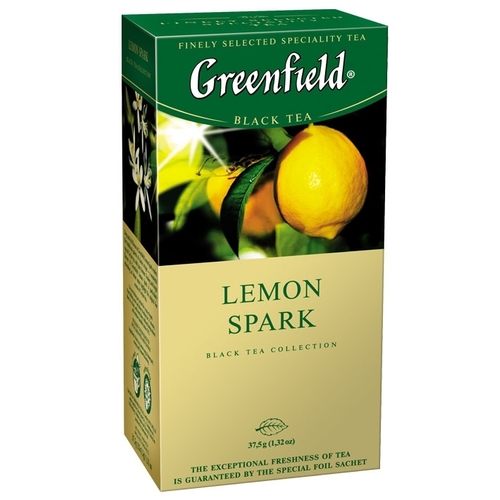 Чай  Гринфилд  лимон 25*1.5 гр