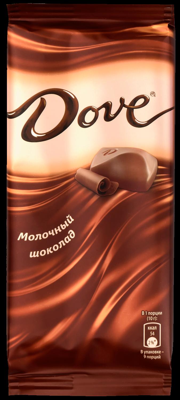 Молочный шоколад  Dove  90гр.