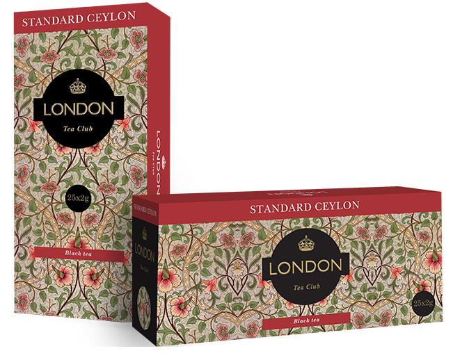 Чай  Лондон Цейлон   25шт*2гр.