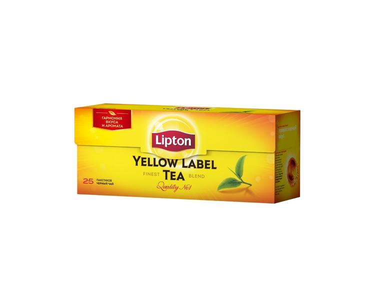 Чай  Липтон LYL  в пакетиках 25шт*2гр.