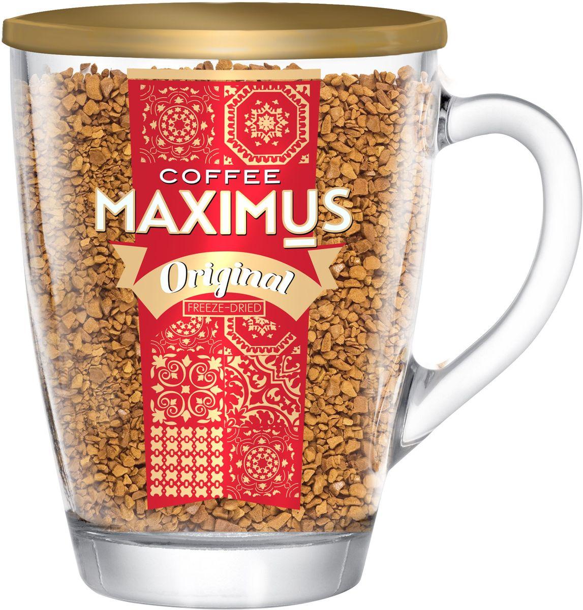Сублимированый кофев  Maximus  Original в кружке 70гр.
