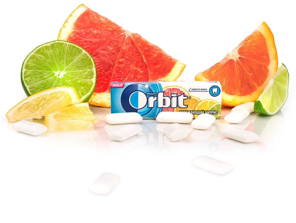 Жевательная резинка  Орбит  освежающий цитрус 13.6гр.