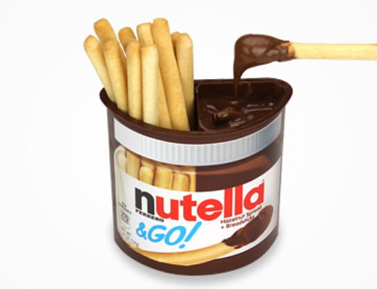 Шоколадная паста  Нутелла @ Go  52гр