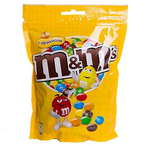 Драже  M &M`s  арахис в шоколаде 240гр.