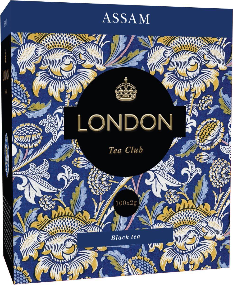 Чай черный  Лондон Ассам  100*2 гр. сашет