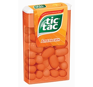 Драже  Тик-так  апельсин 100гр.