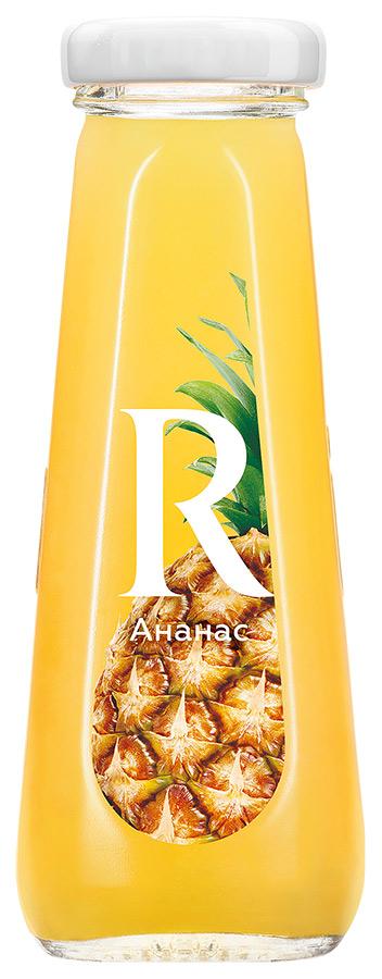 Сок  Рич  ананас (стекло) 0.2л.