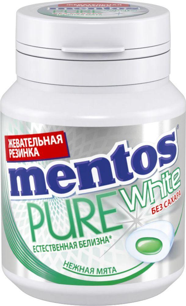 Жевательная резинка  Ментос  нежная мята 54гр.