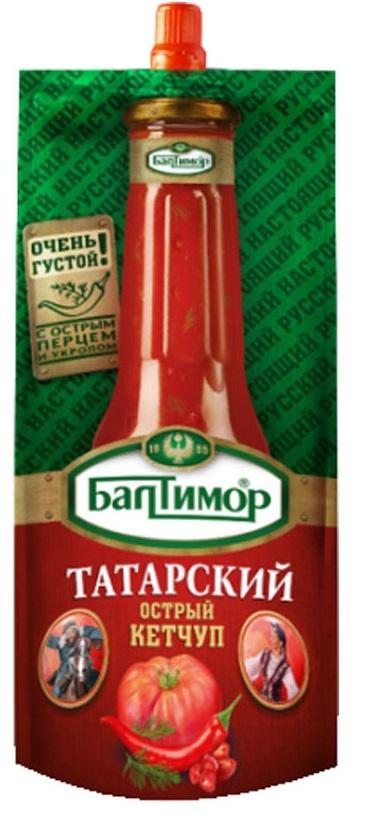 Кетчуп  Балтимор  Татарский 260гр.