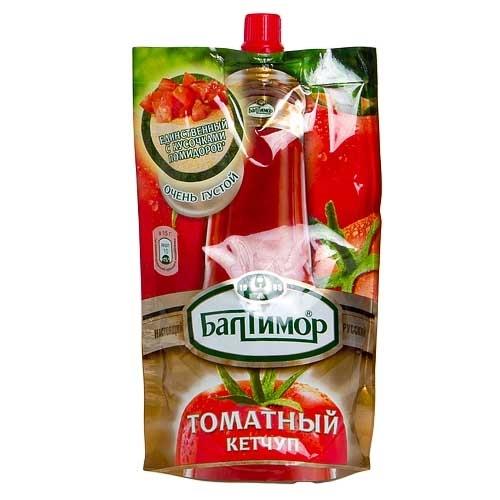 Кетчуп  Балтимор  томатный 260гр.