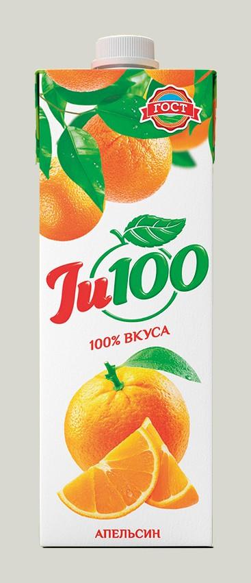 JU 100 АПЕЛЬСИНОВЫЙ НЕКТАР НЕОС.1Л*12