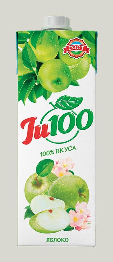 JU 100 ЯБЛОЧНЫЙ НЕКТАР ОСВ. 1Л*12ШТ
