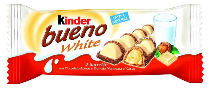 Вафли  Киндер  Буэно в белом шоколаде 39гр.