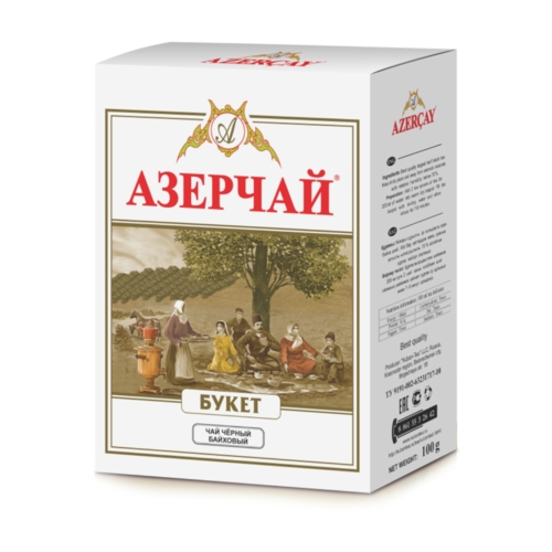 ЧАЙ AZERCAY BUKET TEA 100ГР.МЯГК/УПАК/30ШТ