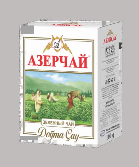 ЧАЙ AZERCAY TEA ЗЕЛЕНЫЙ 100ГР БУМ/УПАК/60ШТ