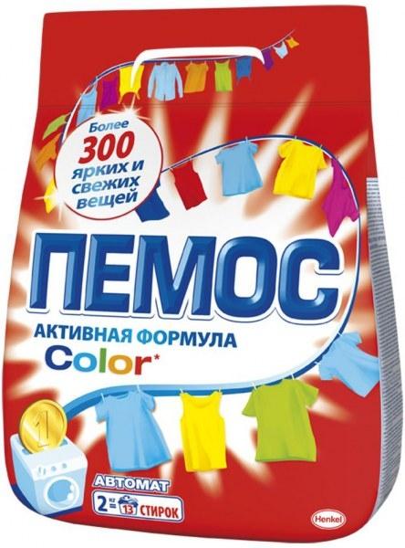 Стиральный порошок  Пемос  Колор 2кг.