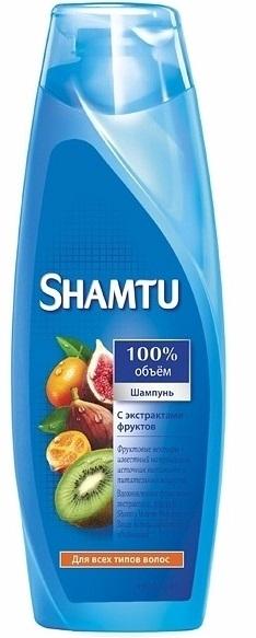 Шампунь  Shamtu  Питание и сила с экстрактами фруктов 360мл.