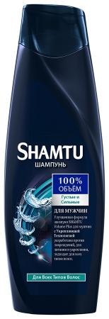 Шампунь  Shamtu  густые и сильные с укрепляющей технологией для мужчин 360мл.