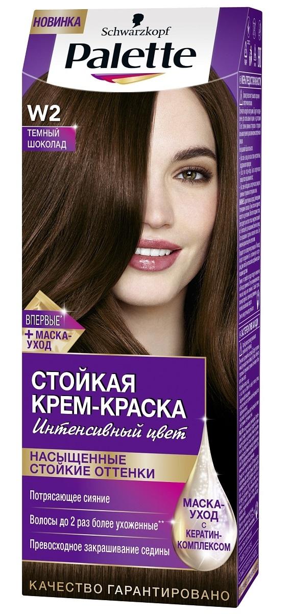 Краска для волос  Palette  Темный шоколад 100мл.