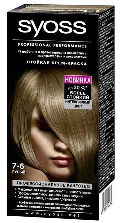 Краска для волос  Syoss Color  русый 115мл.