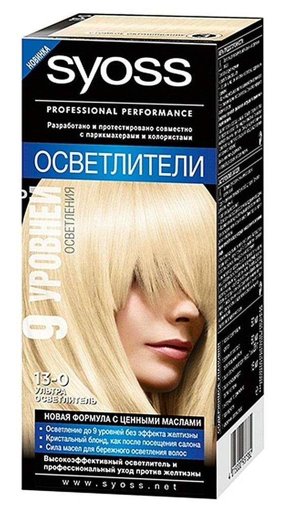Краска для волос  Syoss Color  ультра осветлитель 115мл.
