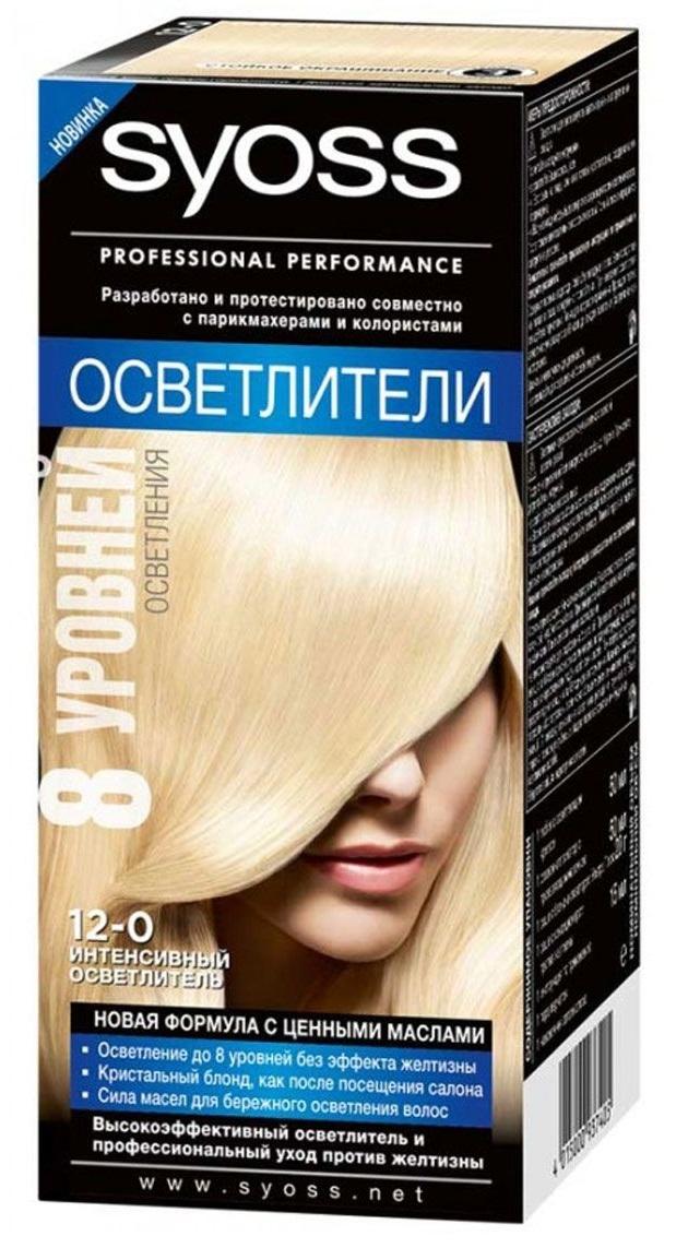 Краска для волос  Syoss Color  интенсивный осветлитель 115мл.