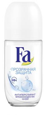 Дезодорант- антиперспирант  Fa  прозрачная защита 50мл.