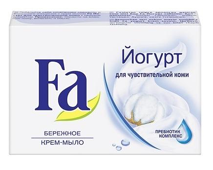 Кусковое крем-мыло  Fa  йогурт 90гр.