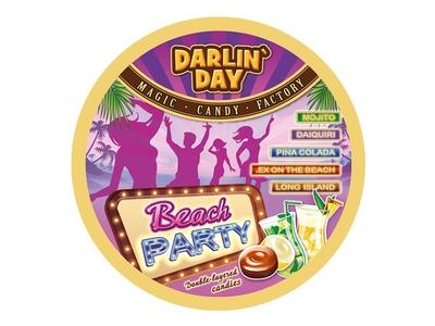 Карамель  Darlin Day  Beach Party со вкусом мята-лайм
