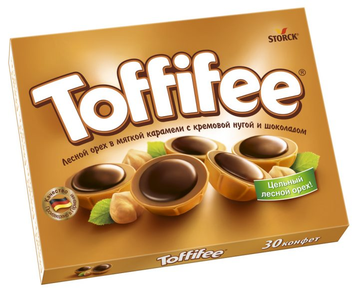 Набор конфет  Toffifee  250гр.
